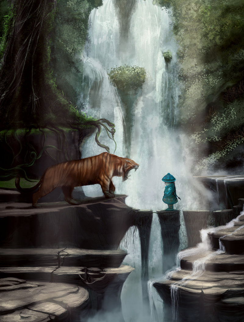 little_blue_and_king_tiger_by_arijanit-d2iya9o